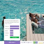 Holiday Inn Resort Maldives web design desktop