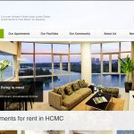 The Crescent Apartments website