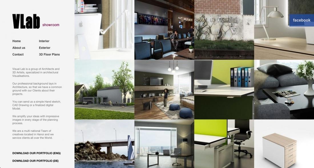 Visual Labs Showroom (VLab)